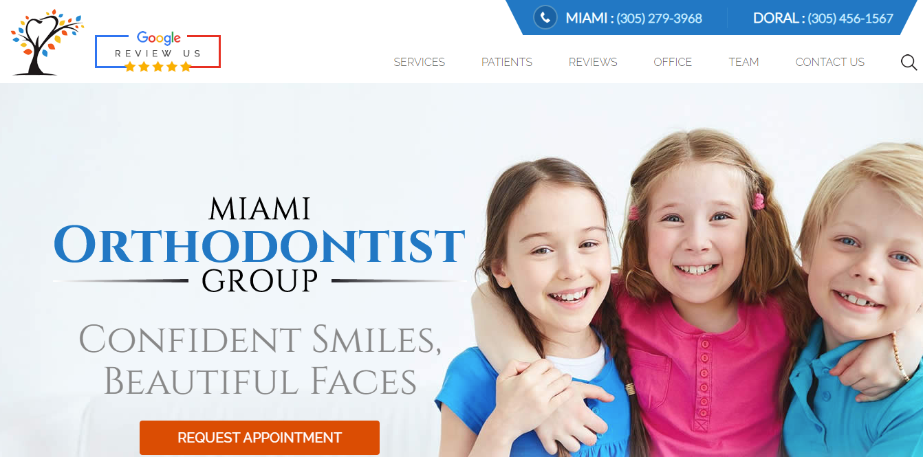 Case Study of miamiorthodontistgroup.com