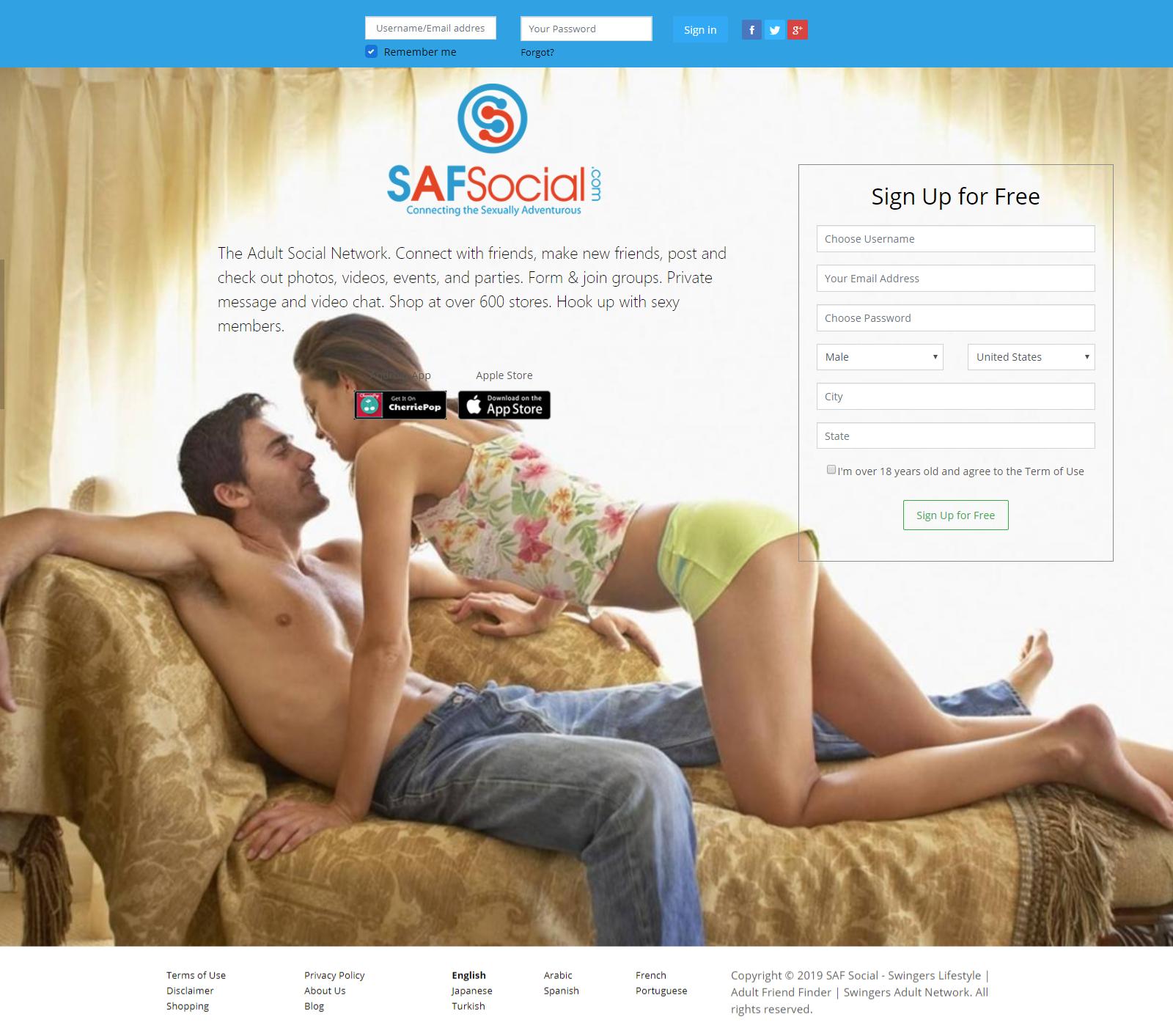 Swinger social blog