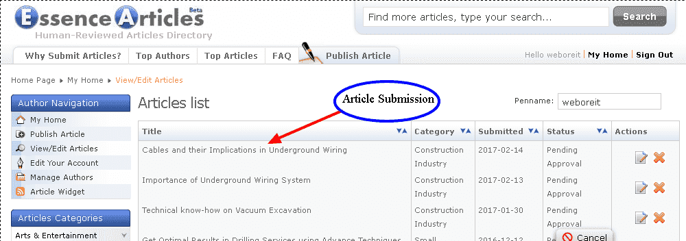 Offpage optimization